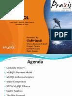 MySQL  Open Source Database in 2004