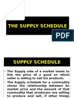 Lec 6 - The Supply Schedule.ppt