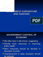 Lec 23 - 24 GOVERNMENT EXPENDITURE AND TAXATION.ppt