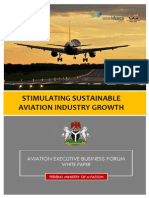 Federal Ministry of Aviation AEBF White Paper 2.0 Facilitated by Dr Aduloju WFG