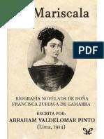 Valdelomar, Abraham - La mariscala.pdf