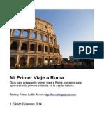 Mi Primer Viaje a Roma