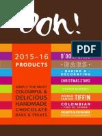 Ooh! Chocolata 2015-16 Brochure