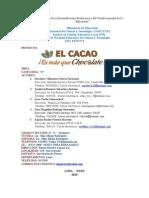 Trabajo El Cacao Ultima Version