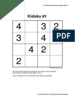 Tutorial de Kidoku