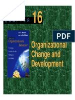 Plo Slide Chapter 16 Organizational Change and Development