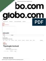 Tipologia Textual _ Estudo Do Texto _ Português _ Educação