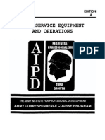 US Army Cooking Course - Food Service Equipment and Operations QM0453
