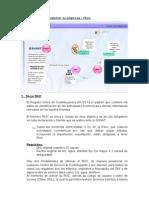 Flujograma Para Registrar Tu Empresa – Perú