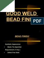 Good Weld Bead Finish (W-10)