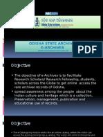 e Archives Presentation