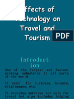 Effects Of Tech On Travel And Tourism