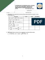 Examen metodos cuantitativos IV