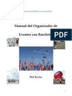 Manual del Organizador de Eventos con Barriletes