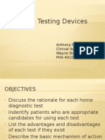 Hometesting Devices Fall 2014