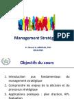 Management Stratégique FSJSE Mai 2015
