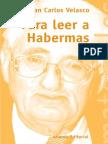 Para a Leer Habermas-Velasco Juan Carlos