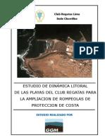 5 Estudio de Dinam. Litoral de Playas CRL