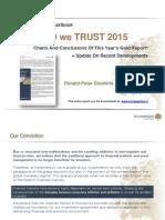 Chartbook - In Gold We Trust 2015 & Status Quo