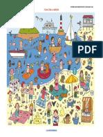 Actividades Para Trabajar La Atención y La Percepción Visual en La Playa a4