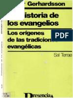 Gerhardsson Birger - Prehistoria de Los Evangelios