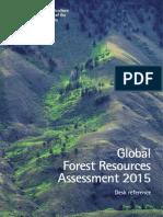 Informe Fao sobre deforestación