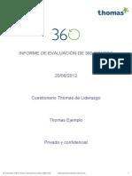 Informe de Evaluacion 360 Grados