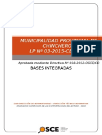 Bases Integradas CHINCHEROS LP3