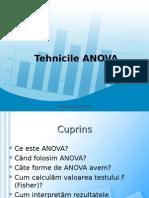 Statistica - Curs ANOVA