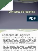 1. Concepto de Logística