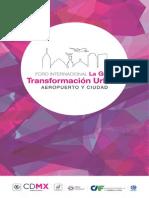 Foro Internacional La Gran Transformación Urbana-Aeropuerto y Ciudad