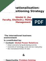 #Internationalisation Strategy