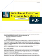 2014 Transition Assesments - Matrix