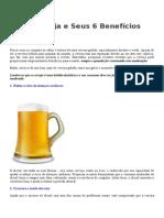A Cerveja e Seus 6 Benefícios a Saude