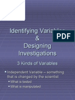 identifying variables powerpoint