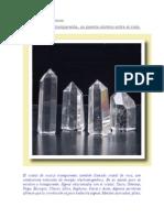 Cristal de Cuarzo Transparente, Un Puente Cósmico Entre El Cielo y La Tierra