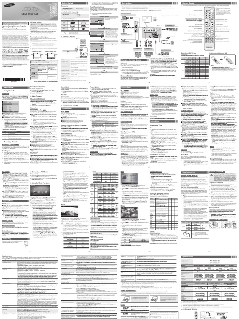samsung un26eh4050 un32eh4050 service manual and repair guide