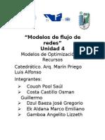 Unidad 4 Modelos de Optimizacion de Recursos