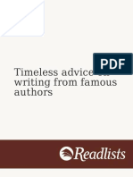 Timeless Advice on Writin Cdbd013d 62180