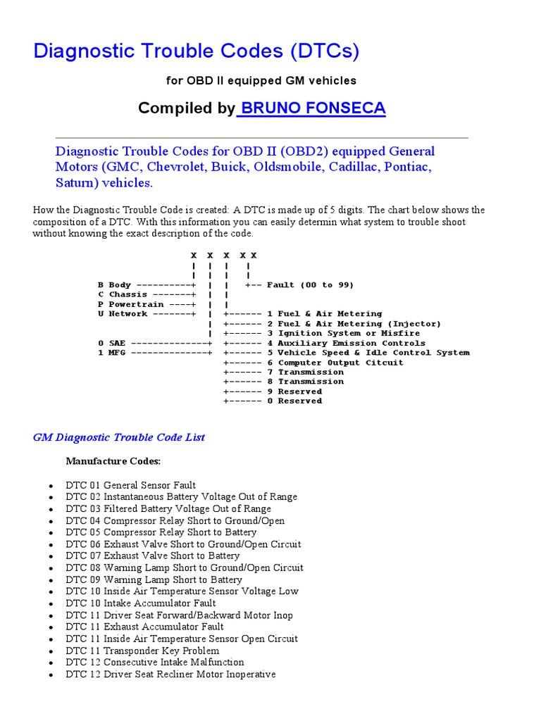 Dtc c1256 pdf array codigos de falla gm fuel injection ignition system rh es scribd fandeluxe Gallery