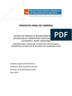 Sistema de Medida de Bioimpedancia