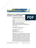 04.Analysis of GATA1 Mutations and Leukemogenesis in Newborns With Down Syndrome