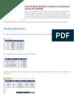 Buscar Valores de Dos Hojas de Excel Distintas e Insertar en Una Tercera Hoja Con BUSCARV