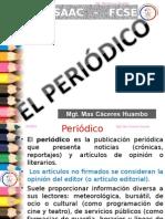 5.- EL PERIODICO. en Blanco y Negro