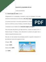Composición y Propiedades Del Aire