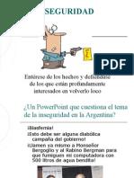 Inseguridad en Argentina
