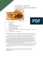 Vieiras Gallegas Sobre Crema de Zanahorias y Calabaza