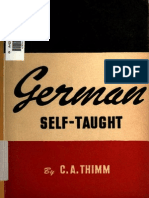 German self taught