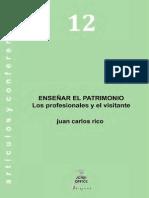 12. Enseñar El Patrimonio