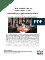 Boletín 041_ Avanza La Construcción Del Sistema Intercultural de Salud en El Cauca